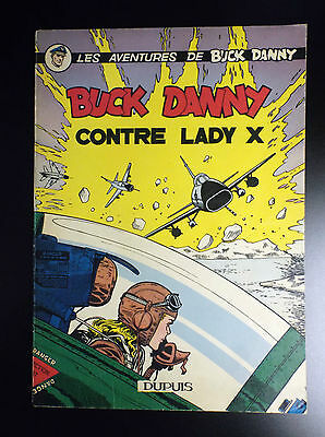 Buck Danny Contre Lady X EO 1958 TBE