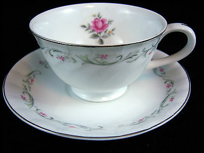 Fine China of Japan Royal Swirl Cup&Saucer Set-Several Avail.-Quantity Discoun
