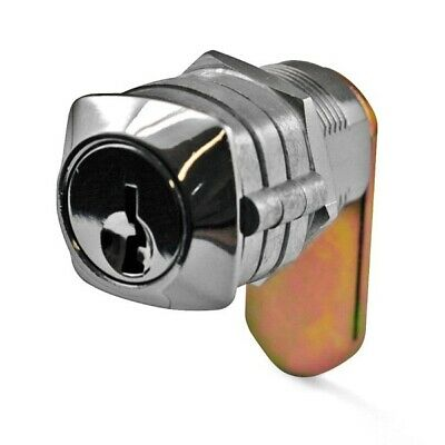 Carbine Cam Lock C4CL-KD-30 28mm C4 Wafer Keyed To Differ Polished Chrome