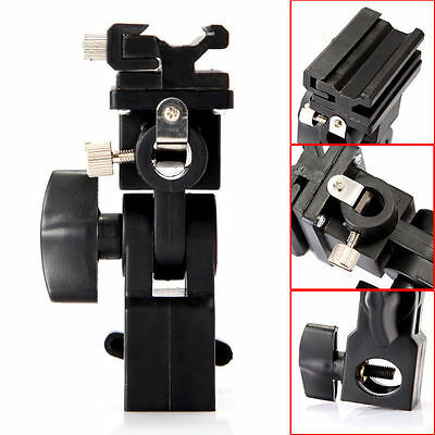 Adjustable Umbrella Flash Mount Holder Tripod Bracket Hot Shoe Adapter AU