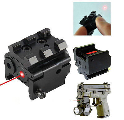 New Hunting Red Laser Dot Sight Scope QD 20mm Rail Picatinny Mount For Rifle Gun