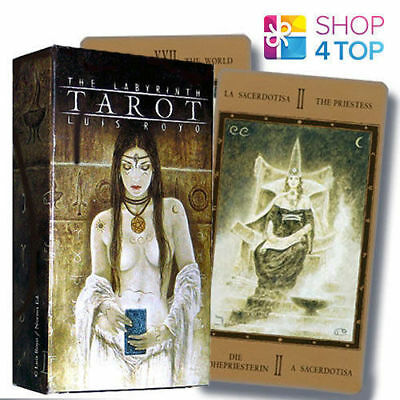 Labyrinth Tarot Cards Deck Fantasy Gothic Luis Royo Art Esoteric Fournier New