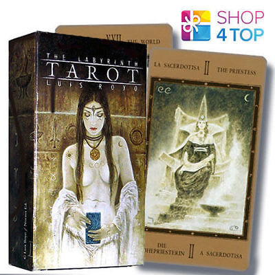 Labyrinth Tarot Cards Deck Fournier Luis Royo Telling Esoteric New