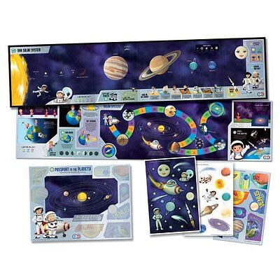 Toy Leapfrog Leapreader Interactive Solar System Discovery Set Works W/ Tag Gift