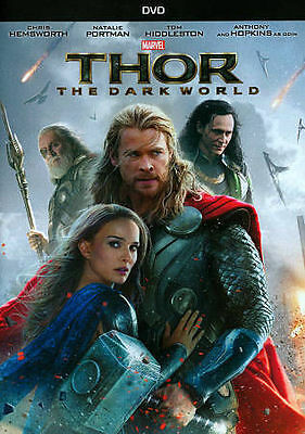 THOR: THE DARK WORLD (DVD 2014) - NEW SEALED DVD