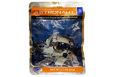 Astronaut Food Cookies & Cream Ice Cream Sandwich