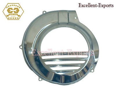 Vespa PX LML Flywheel Fan Cover Chromed 5 Port