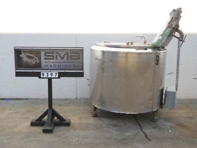 THE CREAMERY MFG COMPANY 200 Gallon Stainless Steel Insulated Mixing Kettle