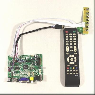 HDMI VGA CVBS Audio USB driver board for 15.6inch 1366x768 lcd panel