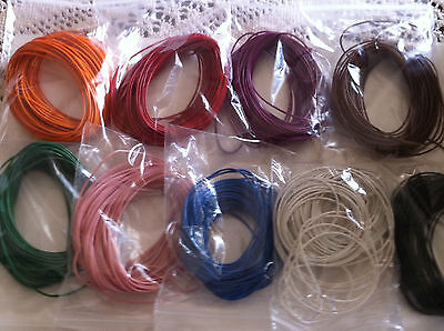 FLEXABLE CONNECTING WIRE/CABLE (10 Mts) 7/0.2mm (Choose Colour)
