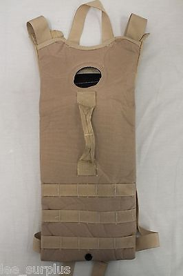 MOLLE II HYDRATION CARRIER Backpack US Military Issue DESERT TAN VERY GOOD