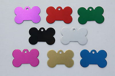 Custom Engraved PET ID TAGS, SINGLE or DOUBLE SIDED, Dog Tag, Cat Tag, Pet Tag