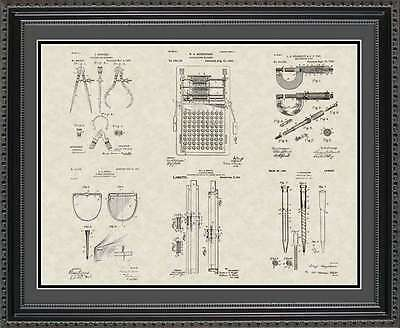 Patent Art Poster - Engineering Tools - Engineer Manufacturing Gift PENGT2024