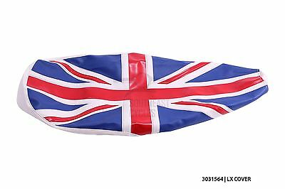 New Union Jack seat cover for vespa LX50 LX125 LX150