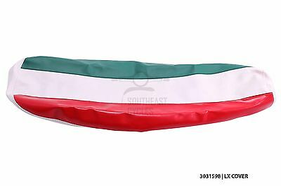 New Italian flag seat cover for vespa LX50 LX125 LX150