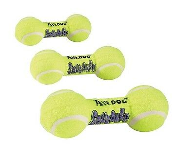 AIR Squeaker Dumbell Dog Toy Heavy Duty Floating Dogs Squeak Toys Tennis Ball