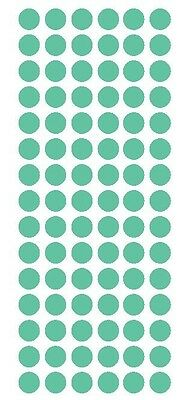 "3//8/"" Ivory Round Vinyl Color Code Inventory Label Dot Stickers"