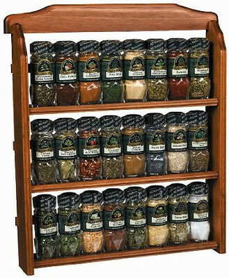 Spice Rack Quot New Americana Quot Wall Mounted