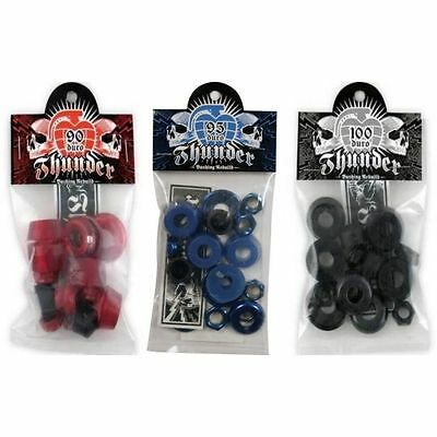 Thunder Bushings Rebuild Kit Cushions Skateboard Trucks Rubbers New FREE POST