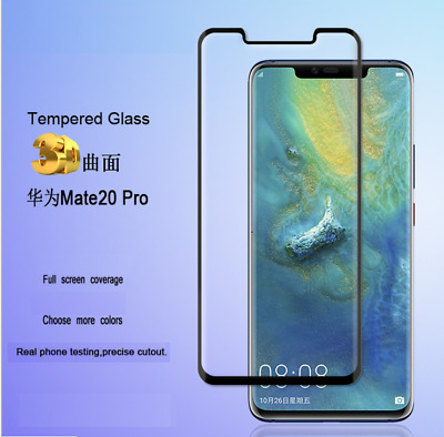 3D FULL SCREEN CURVED EDGE TEMPERED GLASS PROTECTOR For Huawei Mate 20 Pro