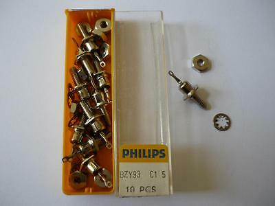 10 Stück Zener Diode Philips BZY93 C15 (15V) 10 pieces