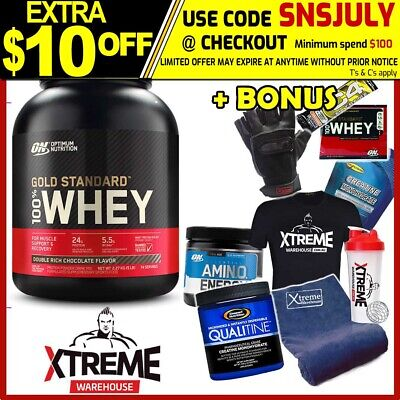 OPTIMUM NUTRITION 100% WHEY 5LB WHITE CHOCOLATE // GOLD STANDARD 5lbs WPI WPC ON