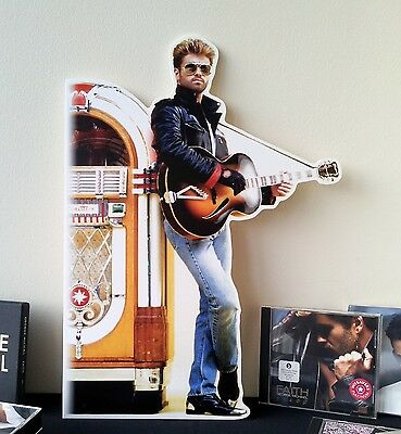 George Michael Display Stand Standee NEW WHAM Faith I Want Your Sex Monkey Older