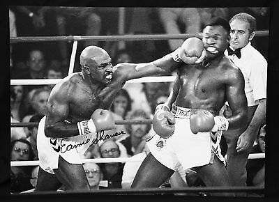 New Earnie Shavers Vs Holmes Signed 12x16  Boxing Photograph
