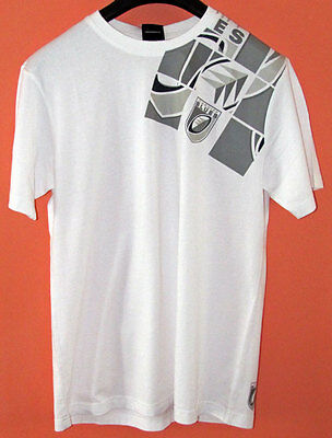Canterbury Rugby Cardiff White Graphic Tee Shirt - Size Large