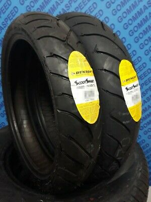 Coppia Gomme scooter 110/70/16 S + 150/70/14 S Dunlop Scootsmart, BEVERLY 500