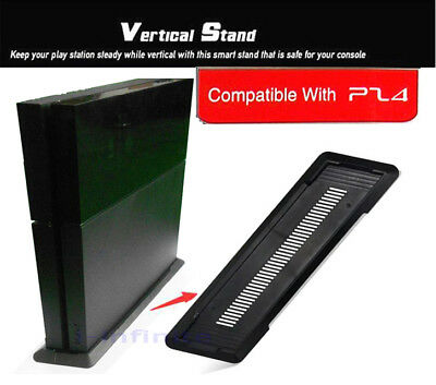 Slim Vertical Stand Mount Holder Cradle for Sony PS4 Playstation 4 Game Console