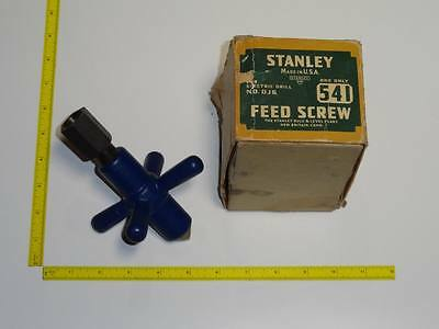 VTG NOS Stanley Sweetheart No.541 Feed Screw For Antique Electric Drill DJ6 RARE