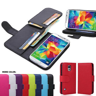 Fold Wallet Case Cover for Samsung Galaxy S5
