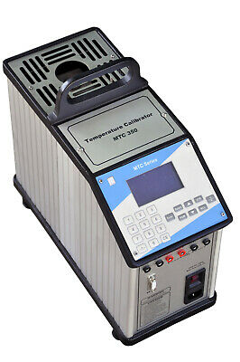 Portable Dry Block Temperature Calibrator with Measurement Capability