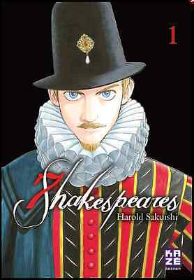 Manga Seven Shakespeares Tome 1 Seinen Sakuishi Harold Kaze William Shakespeare