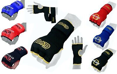 EVO Boxing Gel Gloves Hand wraps Punch Bag Inner Glove MMA Martial Arts UFC Gear