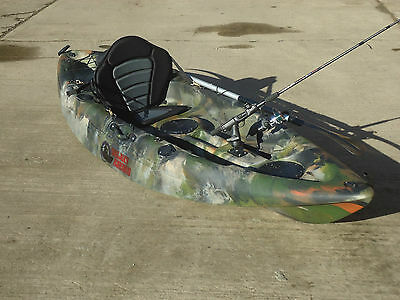 Sit On Top Fishing Kayak Canoe Galaxy Cruz New 2016 Model With Free Trolley