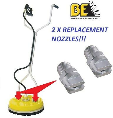 "Whirlaway Whirl A Way 20"" & 18""  Surface Cleaner Replacement Nozzles 85.225.025"