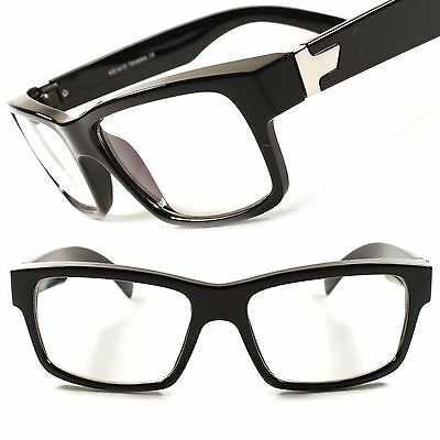 Stylish Anti Reflective Rectangle Clear Lens Computer Reading Glasses Frames D20