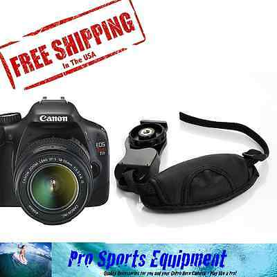 Camera Wrist Strap Secure Leather Hand Grip for Canon EOS T2i 550D DSLR USA