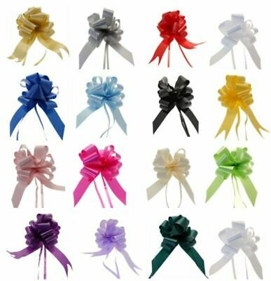 ❤ PULL BOWS x 4 LARGE / SMALL Presents Gifts Christmas HAMPERS Wedding Flowers