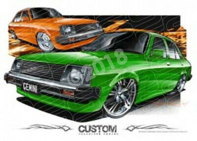 1979 HOLDEN TE GEMINI  STRETCHED CANVAS (D027)-New_Itemq
