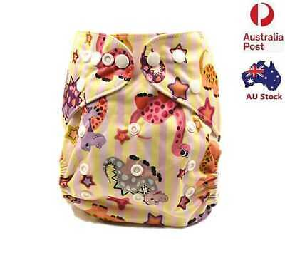 Baby Washable Modern Cloth Nappies Cloth Nappy Diaper Covers Liner Insert (M23)