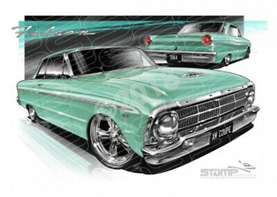 Coupe XM XM COUPE FALCON GREEN  STRETCHED CANVAS (FT057)-New_Itemq