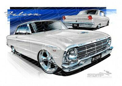 Coupe XM XM FALCON COUPE WHITE  STRETCHED CANVAS (FT059)-New_Itemq