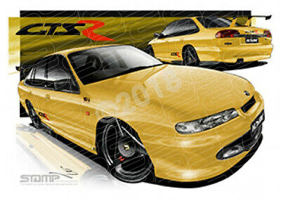 HSV Limited edition cars 1996 VS HSV GTS-R  STRETCHED CANVAS (V001)-New_Itemq