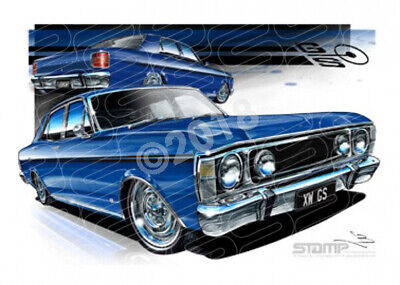 Classics XW GS XW GS FAIRMONT STARLIGHT BLUE  STRETCHED CANVAS (FT162E)-New_Item