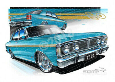 Classics XY GS XY GS FAIRMONT TEAL GLOW  STRETCHED CANVAS (FT163)