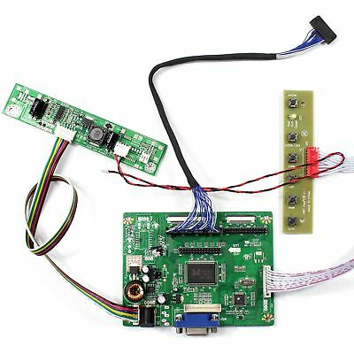 VGA LCD driver board work for 10.4inch AA104VH01 640x480 LED backlight LCD Panel