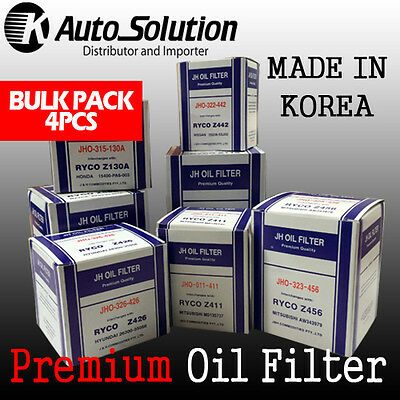 Oil Filter Z130A Fits for HONDA Accord City Civic Integra Prelude Shuttle 4PCS